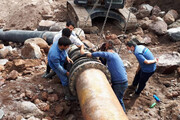 مشکل قطعی آب مهرشهر برطرف شد