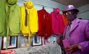 تصاویر | مردِ یکرنگِ دنیای مد و لباس