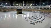 تایم لپسی زیبا از طواف وداع زائران بیت الله الحرام