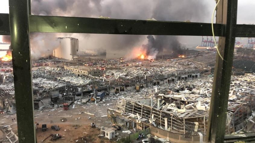 انفجار بزرگ بیروت