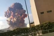 تصاویر آخرالزمانی از بیروت؛ لحظاتی پس از انفجار | شهری که خاکستر شد