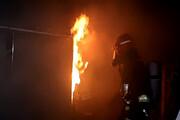 تصاویر آتشسوزی گسترده در «جبل مشغره» لبنان