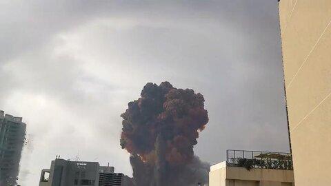 دود و آسیبهای ناشی از انفجار