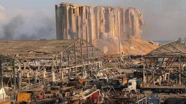 بیروت قبل و بعد از انفجار