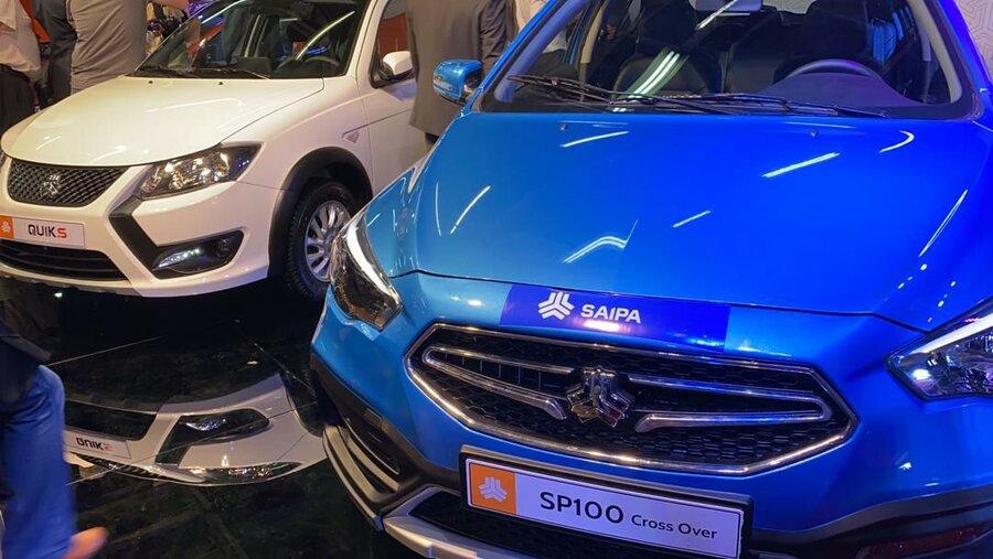 خودروی جدید سایپا  sp۱۰۰