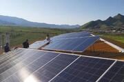 فاز اول نیروگاه برق خورشیدی مریوان به بهرهبرداری رسید