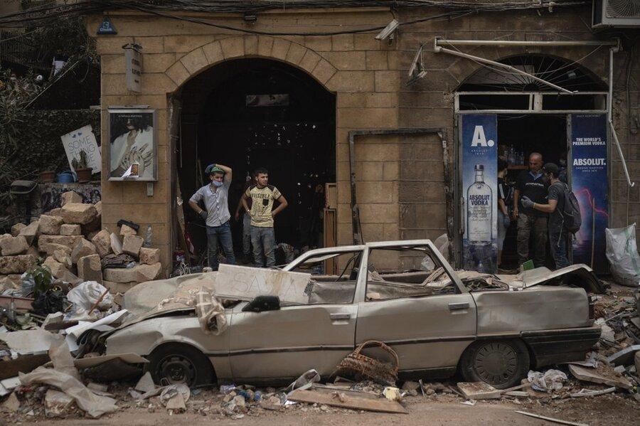 بیروت سه روز پس از انفجار
