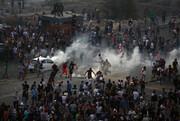 معترضان لبنانی به ساختمان وزارتخانهها در بیروت هجوم بردند