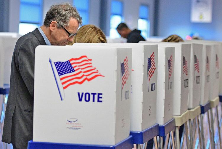 راي دادن در انتخابات آمريكا