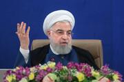 واکنش روحانی به تلاش آمریکا برای تصویب قطعنامه علیه ایران