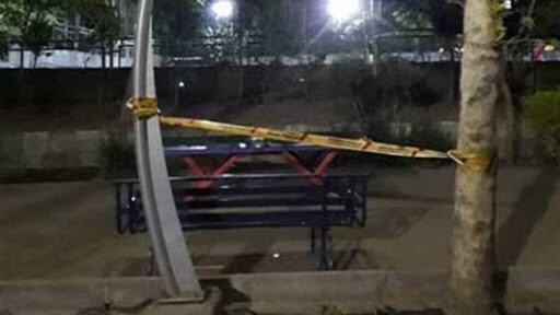 برق گرفتگی-پارک لاله