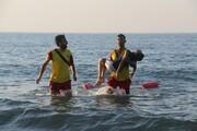 غرق شدن ۲ زن در منطقه شناممنوع دریای خزر