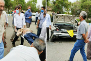 انحراف خودرو عابر پیاده را در پارسآباد به کشتن داد
