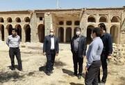 تکمیل مرمت قلعه فرخشهر شهرکرد لنگ ۵۰ میلیارد ریال اعتبار