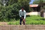 آشتی یک شکارچی ساروی با محیط زیست