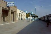 ایستگاه راهآهن نقاب ثبت ملی شد
