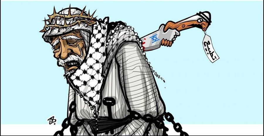 کاریکاتور امارات و اسرائیل