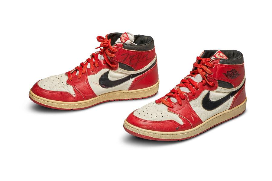 کفشهای مایکل جردن