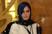 عکس | استایل متفاوت الناز شاکردوست در جشن حافظ ۹۹