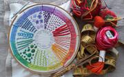 تصاویر | ۲۰ مدل دوخت ساده برای خلق تابلوهای زیبای گلدوزی