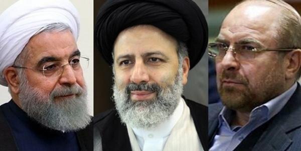 قالیباف روحانی رئیسی