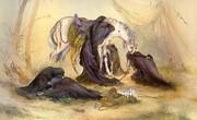 فرشچیان عصر عاشورا را چگونه خلق کرد؟