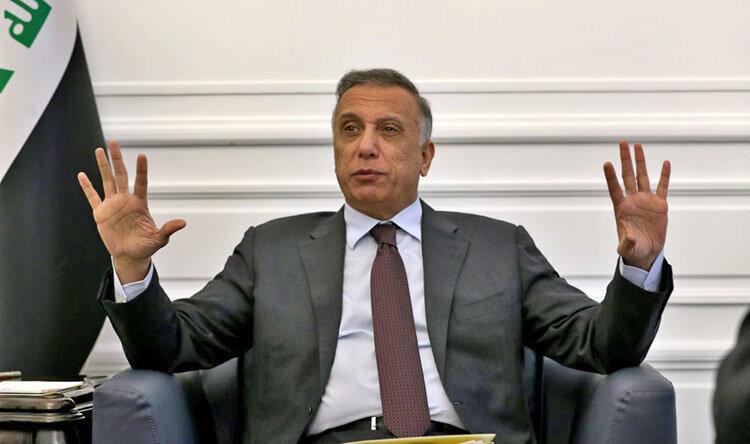مصطفی الکاظمی  نخستوزیر عراق
