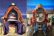 تصاویر جالب یک چالش کرونایی با نقاشیهای معروف دنیا