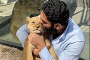 واکنش محیطزیست به فیلم جنجالی علی زندوکیلی با توله شیر