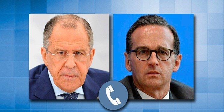 وزرای خارجه روسیه و آلمان