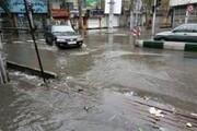 فیلم | بارش شدید باران و تگرگ در تبریز