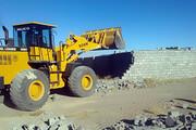 تخریب ۱۸ ساخت و ساز غیرمجاز در زمینهای کشاورزی شهرری