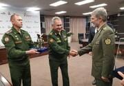 ویدئو | بازدید وزیر دفاع ایران از جدیدترین دستاوردهای نظامی روسیه