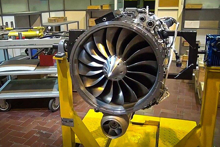 موتور توربو فن جهش 700 پهپاد