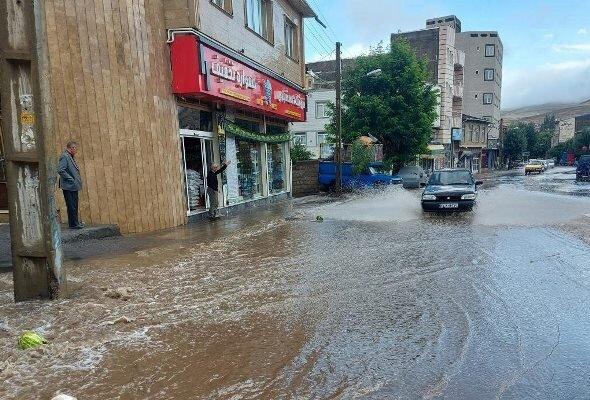 سیلاب در خلخال