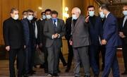 تصاویر   لشگر دیپلماتهای ماسکدار در وزارت امور خارجه   خندههای گروسی زیر ماسک در دیدار با ظریف