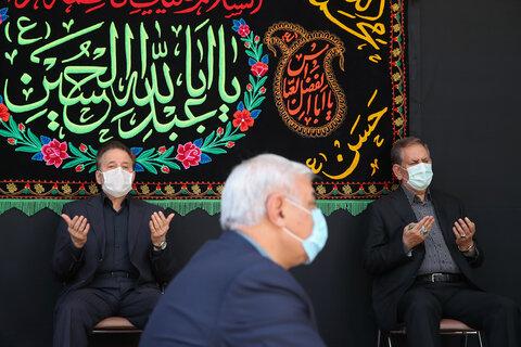 عزاداری با حضور دکتر روحانی
