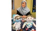 عروسکهای قصههای مادربزرگ را میسازم