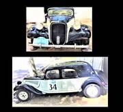 عکس   انتقال یک خودرو سیتروئن مدل ۱۹۵۳ به موزه اتومبیلهای سلطنتی سعدآباد