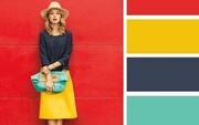 تصاویر | ۱۰ پالت رنگی برای داشتن یک استایل فوقالعاده | راهنمای انتخاب رنگهایی که به هم میآیند