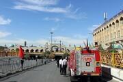 آتشنشانی مشهد به حالت آمادهباش درآمد