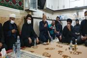 دلجویی ناجا از مردم با حضور در منزل امام جماعت روستای ابوالفضل اهواز