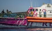 ویدئو | قایق نجات هنرمند خیابانی انگلیسی برای پناهجویان | قایق بنکسی در دریای مدیترانه گرفتار شد