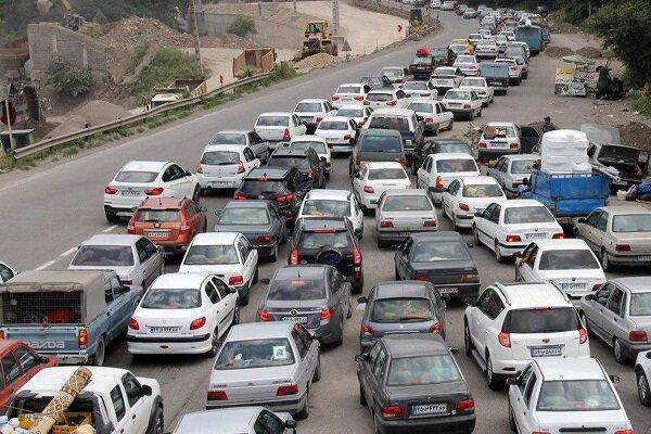سومین روز از تعطیلات و ترافیک سنگین در ۳ محور مواصلاتی