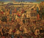 نقاشیهای قهوه خانهای در موزه رضا عباسی
