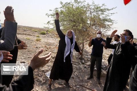 عزاداری تاسوعا در روستای ابوالفضل اهواز