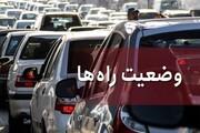 یکطرفه شدن هراز و کندوان به سمت تهران