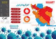اینفوگرافیک | روند مرگ و میر کرونا در ایران دوباره صعودی شد