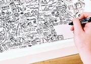 نقاشی روی دیوارهای قرنطینه