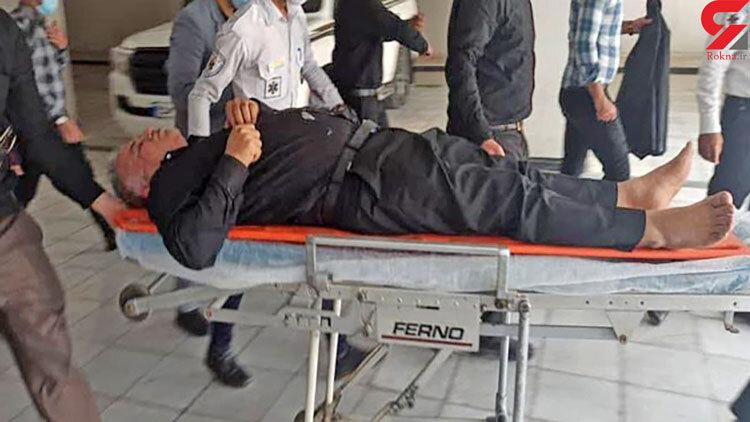 بيهوش شدن موسوي فرماندار آبادان